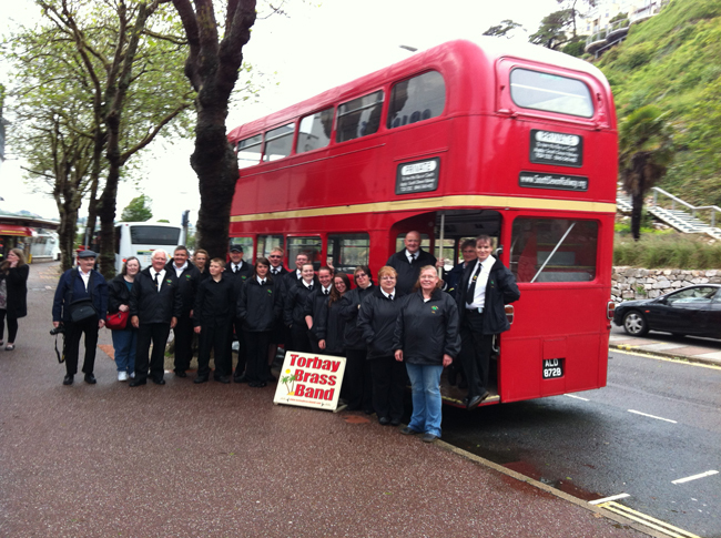 RM1872 with the Torbay Brass Band